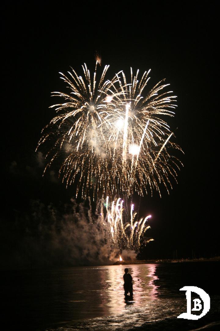 Feuerwerk auf Mallorca