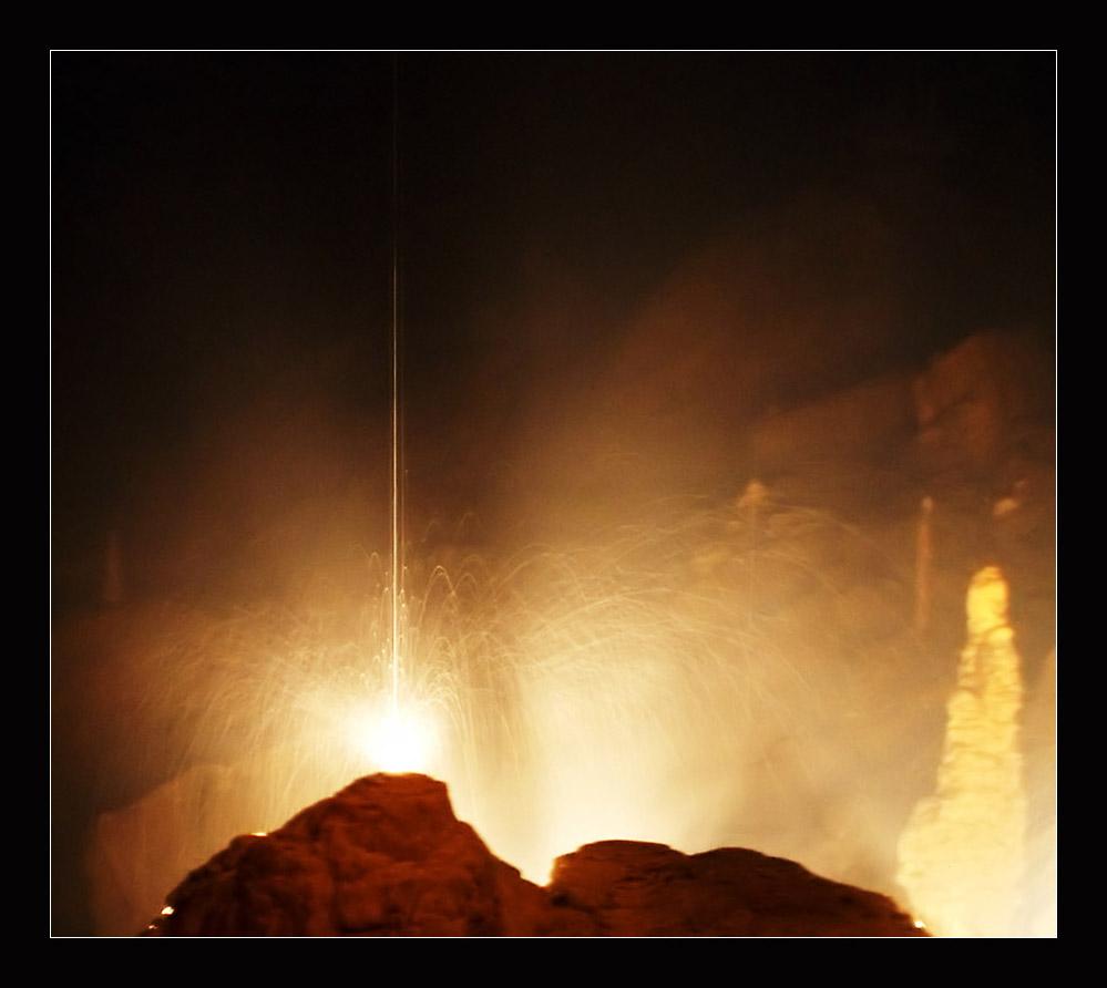 Feuerwerk aus Wasser