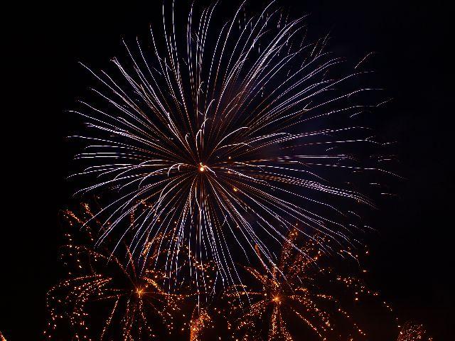 Feuerwerk bei Rhein in Flammen 2009 in Bonn 3