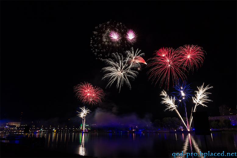 Feuerwerk beim Brucknerfest 2013 Linz