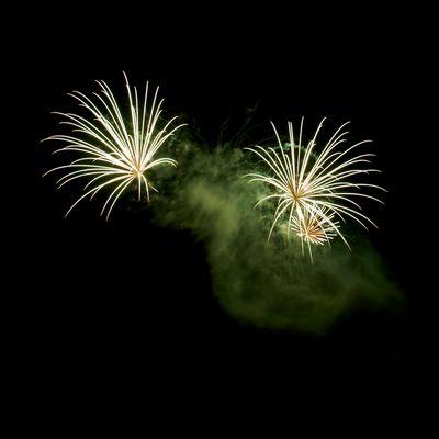 Feuerwerk beim Fischerfest 2010, Gernsheim, Bild 4