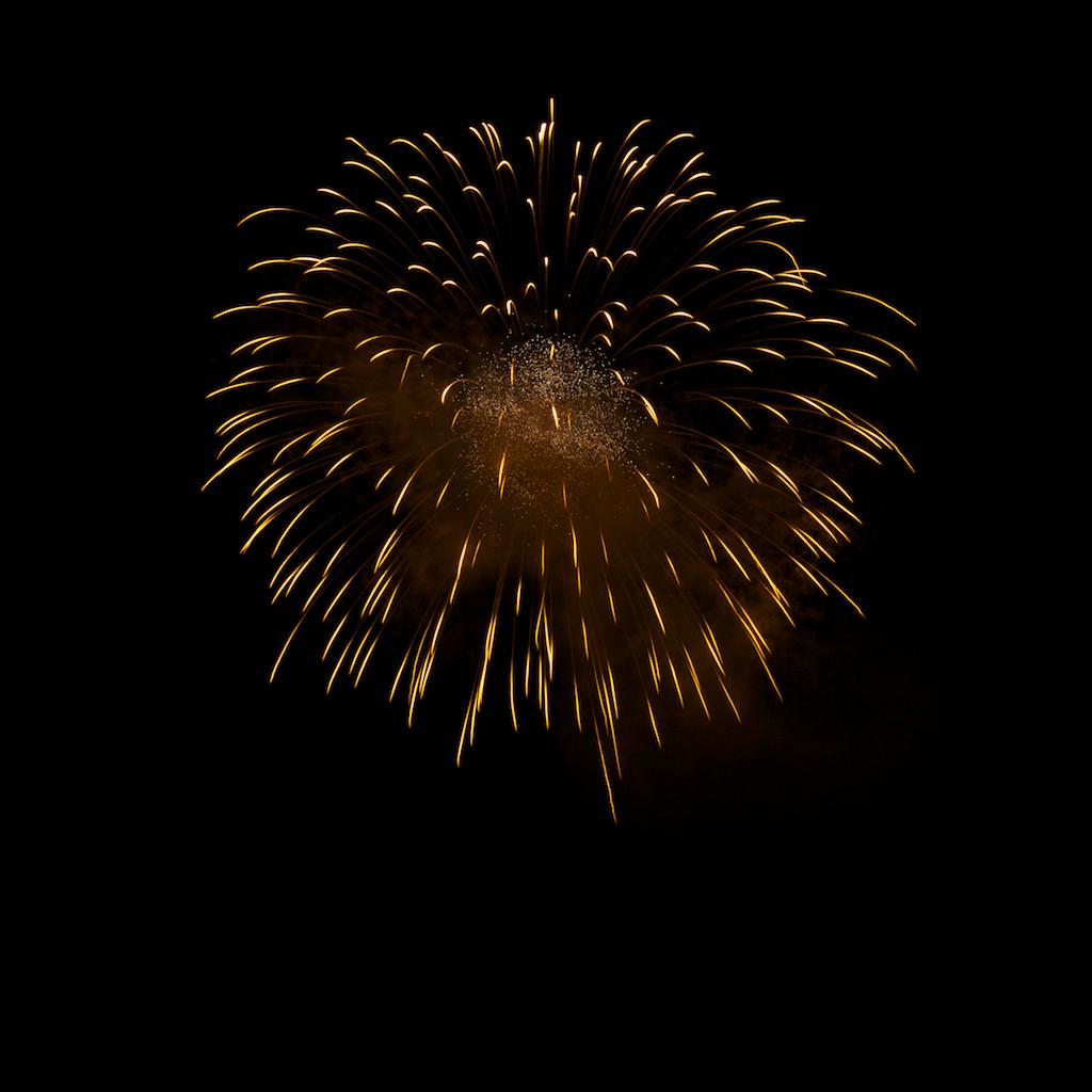 Feuerwerk beim Fischerfest 2010, Gernsheim, Bild 5
