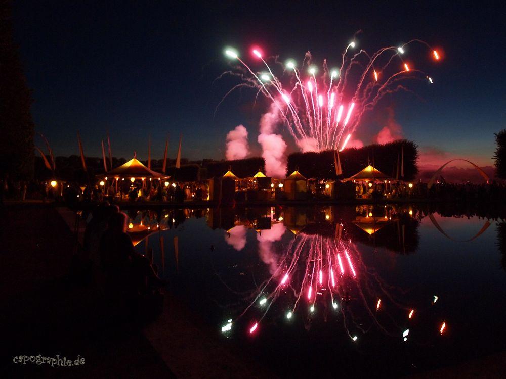 Feuerwerk beim Kleinen Fest im Grossen Garten