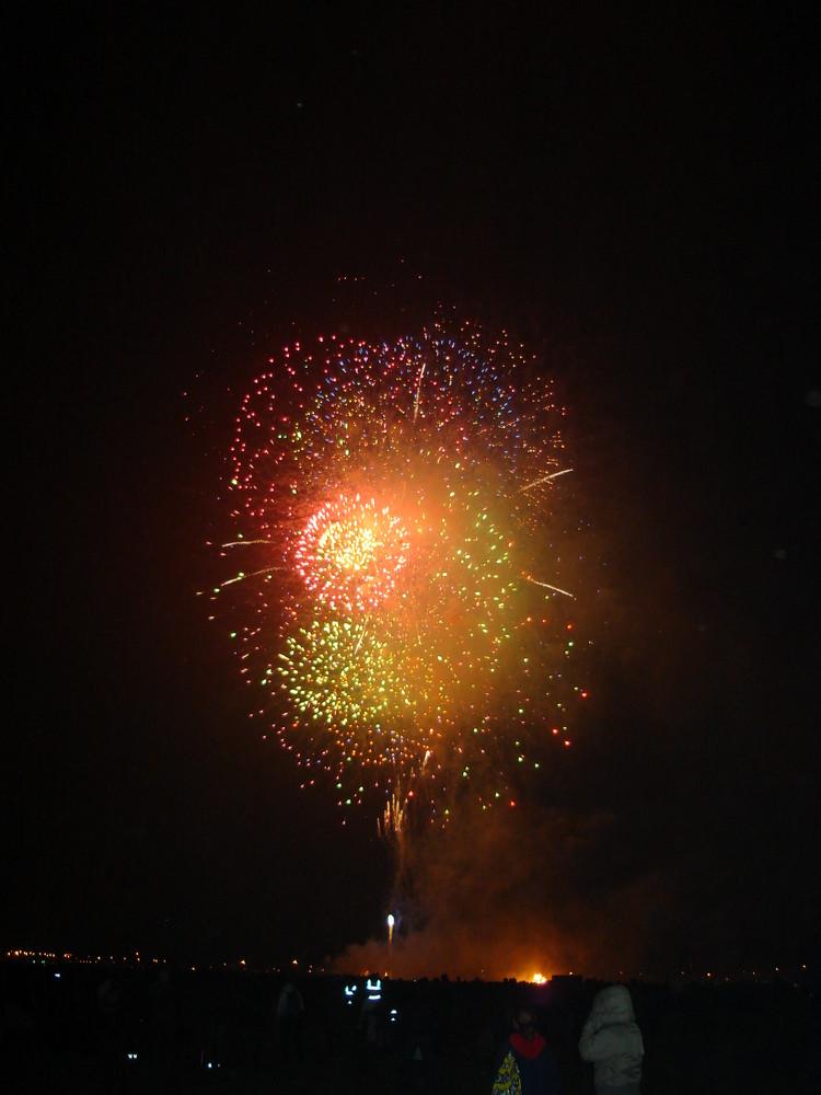 Feuerwerk Blackheath Hill heute abend