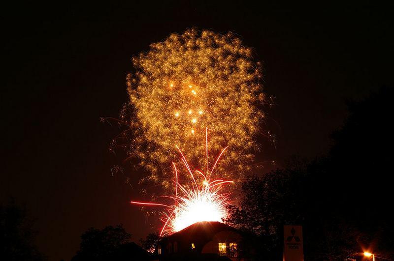 Feuerwerk Buga 2007