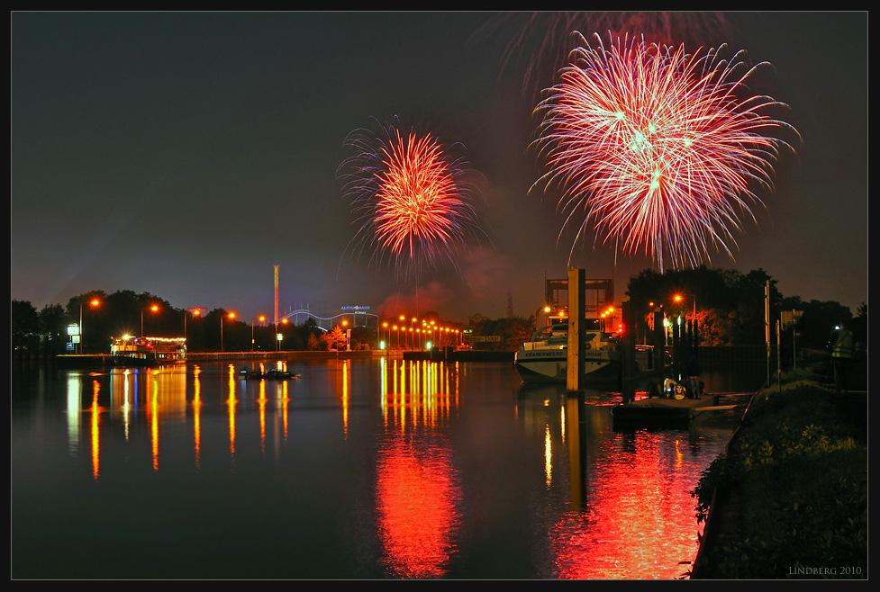 Feuerwerk Cranger Kirmes 2010, 2