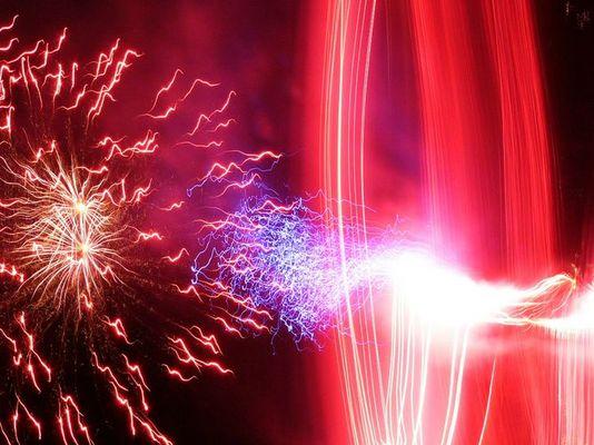 Feuerwerk der anderen Art