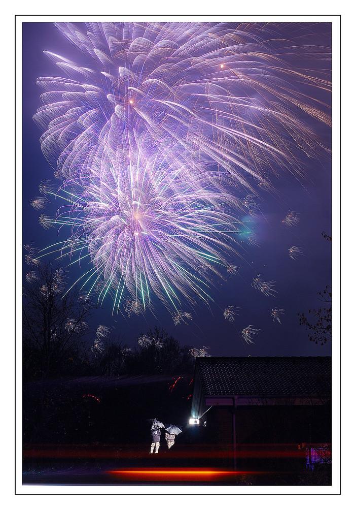 Feuerwerk der Martinskirmes