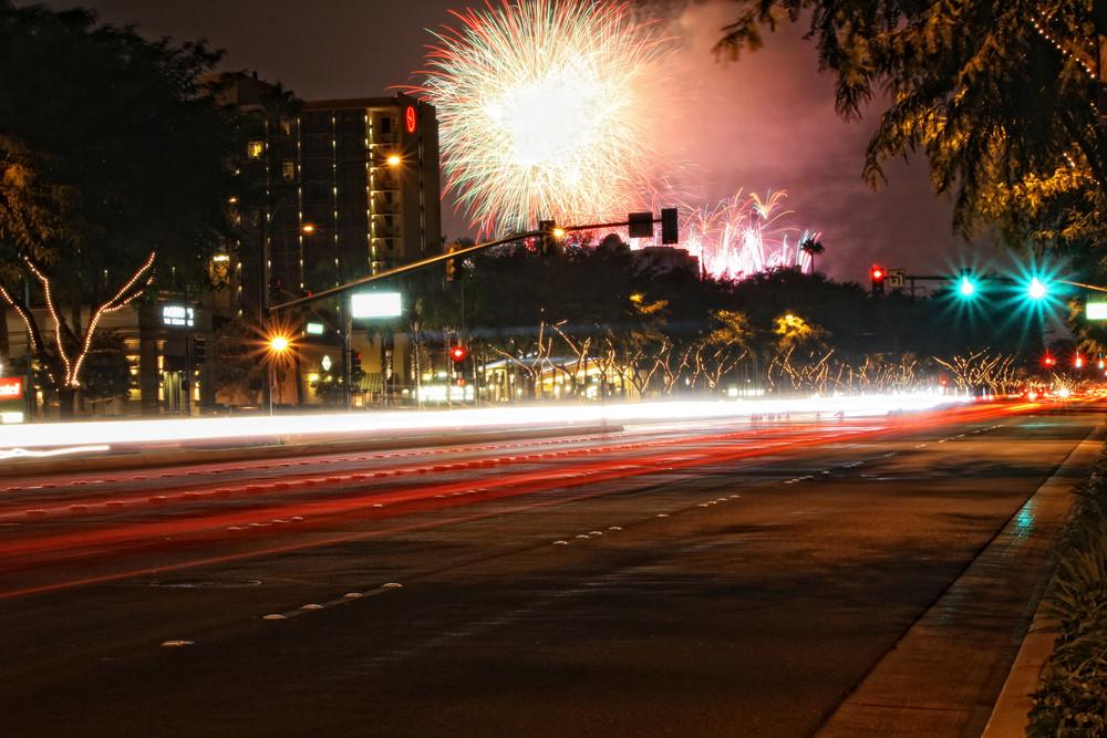Feuerwerk Disneyland Anaheim !!