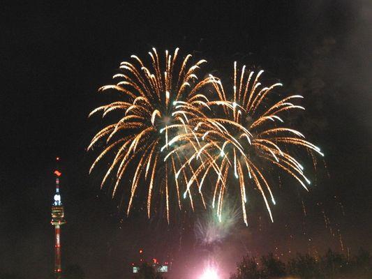 Feuerwerk - Donauinselfest 2003