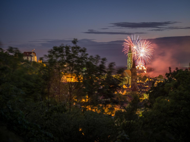 Feuerwerk Dult