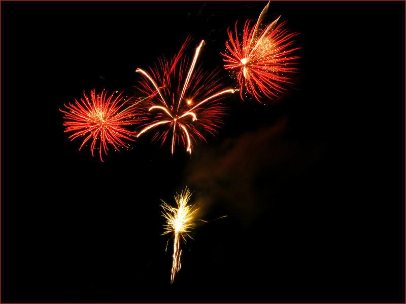 *Feuerwerk*