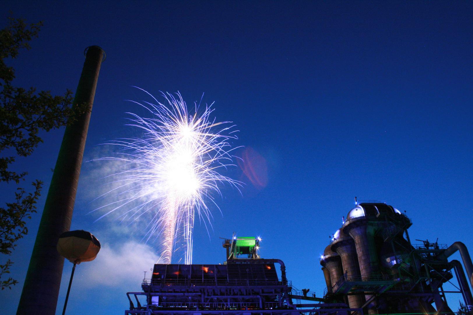 Feuerwerk (ExtraSchicht 2013)