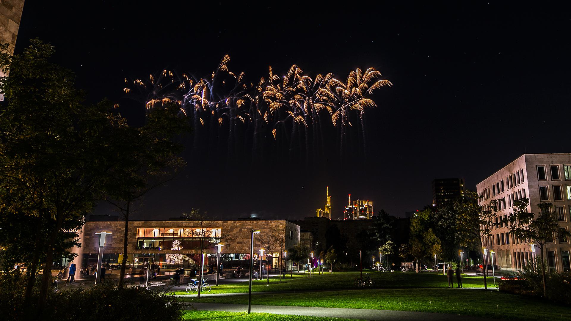 Feuerwerk Frankfurt