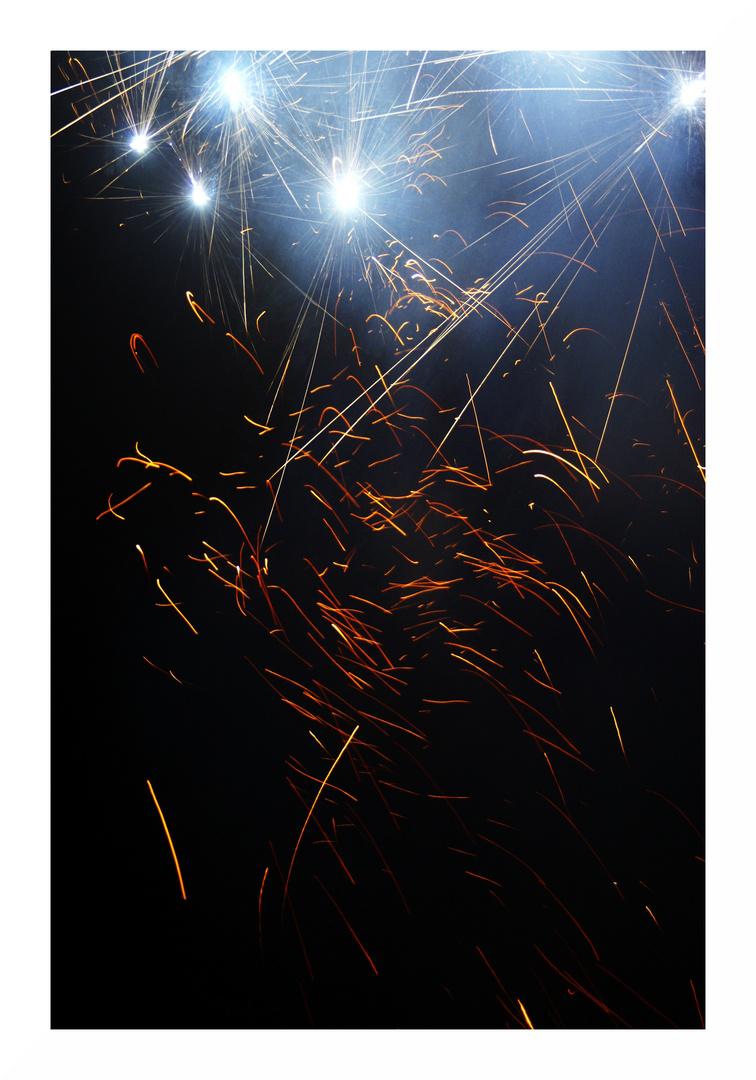 Feuerwerk ( Frohes neues Jahr )