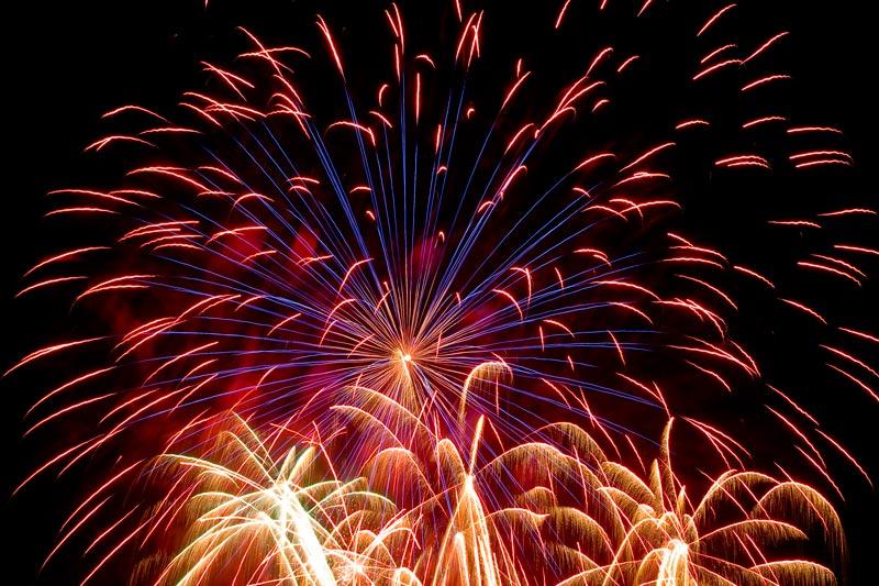 Feuerwerk Gatteo Mare Italien VII