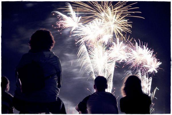 Feuerwerk - Goitzsche in Flammen
