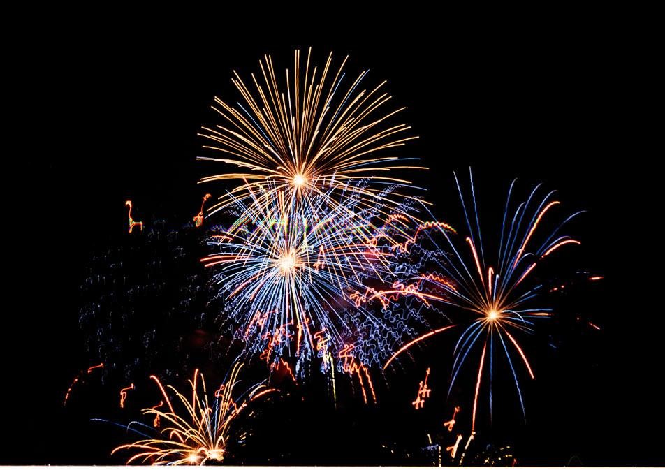 Feuerwerk I beim LIchterfest DO 2007