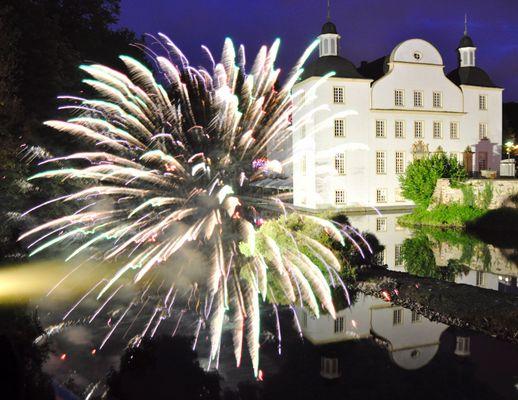Feuerwerk im Spätsommer 2012