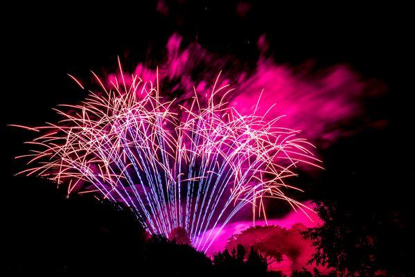 Feuerwerk im Westpark München
