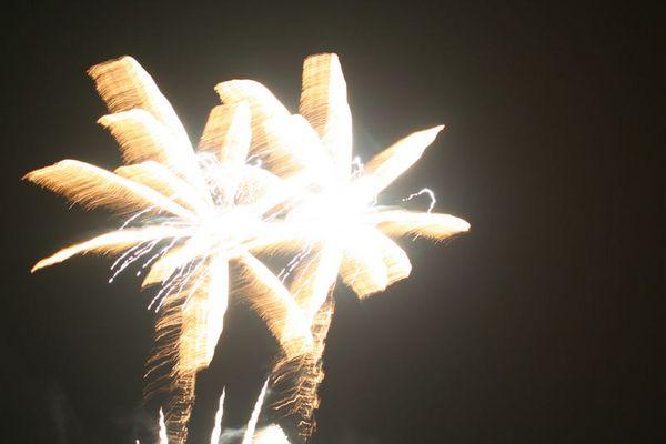 Feuerwerk in Arbon