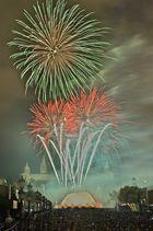 Feuerwerk in Barcelona