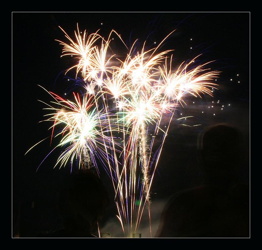 Feuerwerk in Cuijk