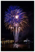 Feuerwerk in Dartmouth 2012