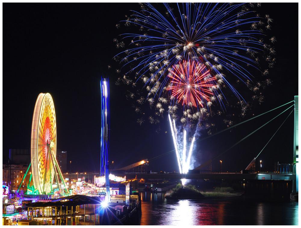 Feuerwerk in Deutz