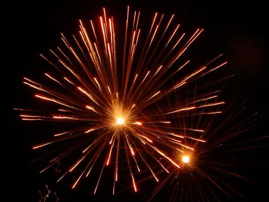 Feuerwerk in Enschede