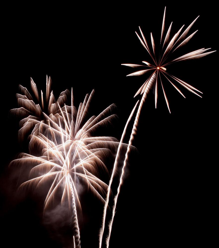 Feuerwerk in Filzmoos zur Nacht der Ballone