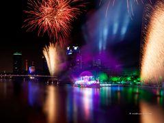 Feuerwerk in Frankfurt am Main
