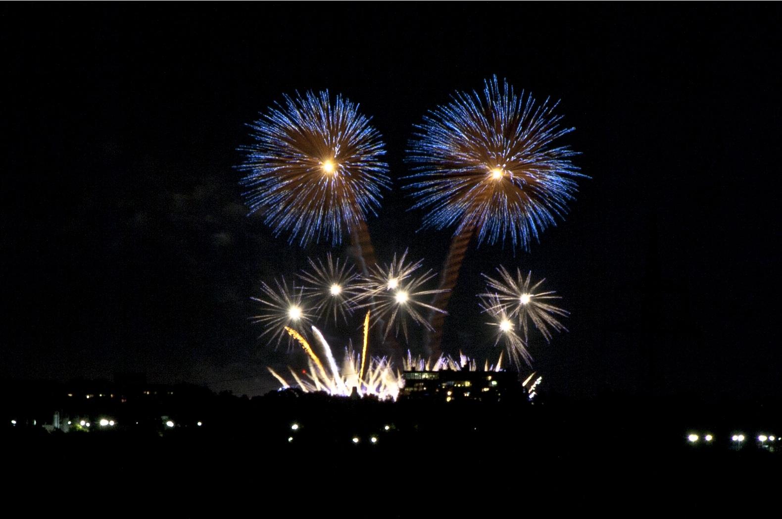 Feuerwerk in Herrenhausen II