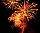 Feuerwerk in Interlaken CH