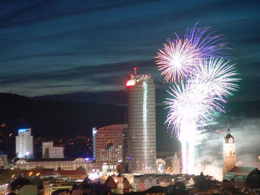 Feuerwerk in Jena