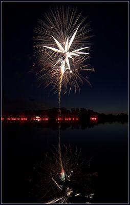 Feuerwerk in Karlsfeld