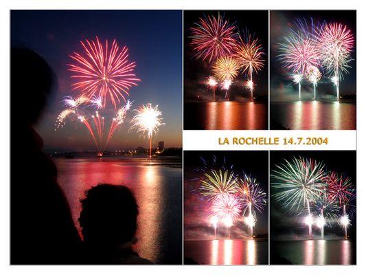 Feuerwerk in La Rochelle