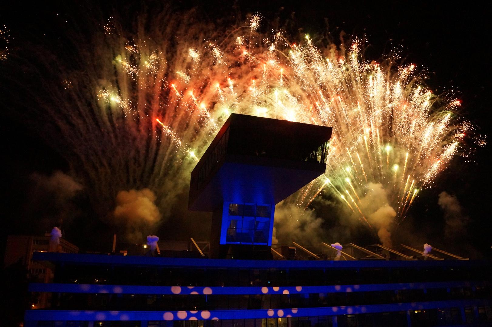 Feuerwerk in Lehen 2014