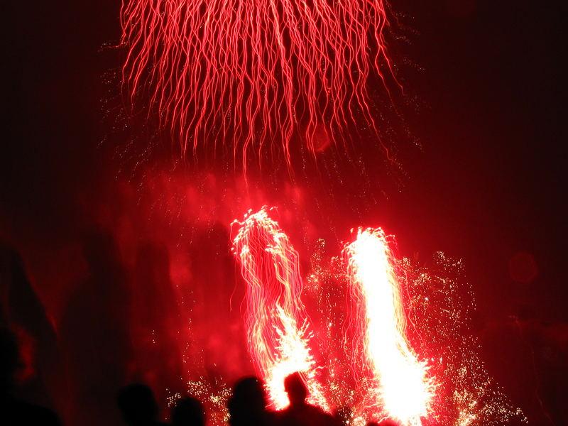 Feuerwerk in Leverkusen