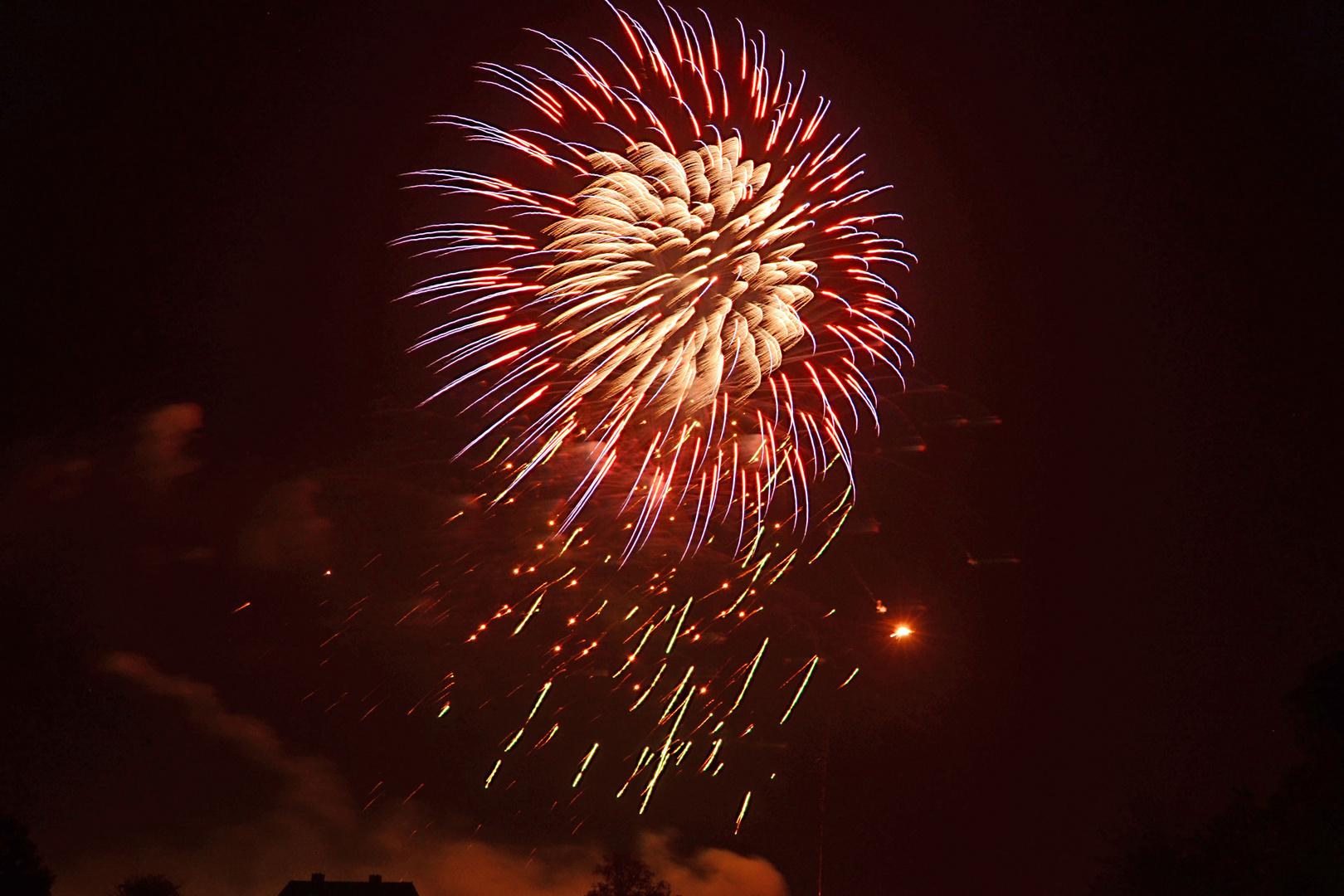 Feuerwerk in Meppen