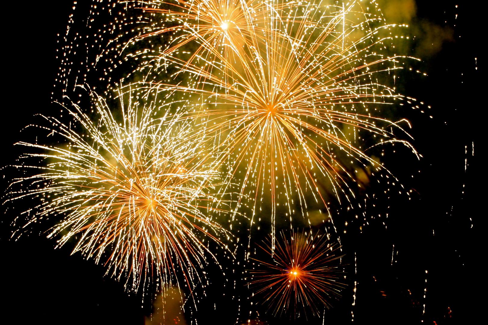 Feuerwerk in Monaco
