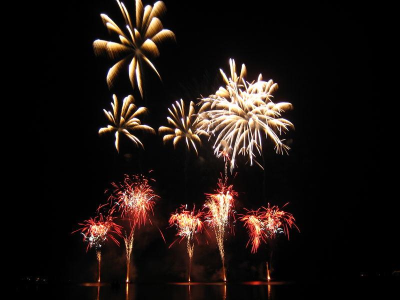 Feuerwerk in Plön 3