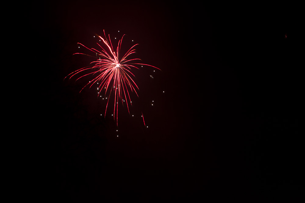 Feuerwerk in Porta Westfalica 2011 #2