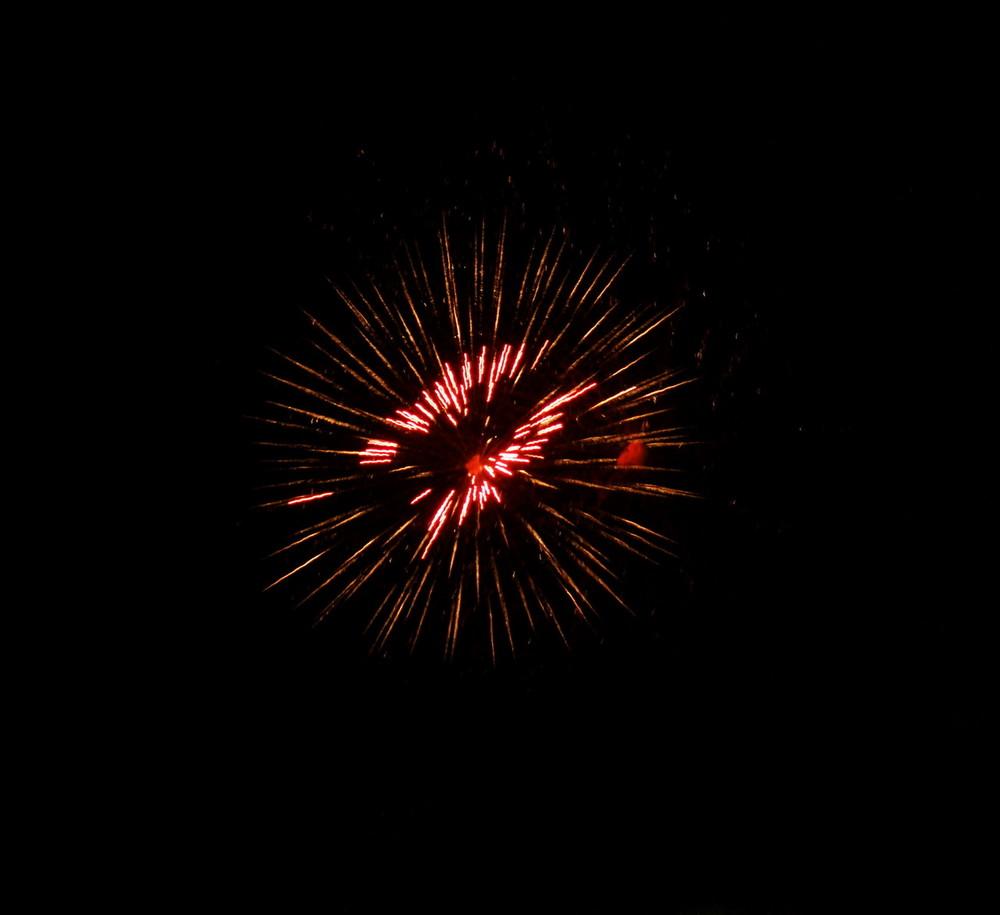 Feuerwerk in Salzburg 1