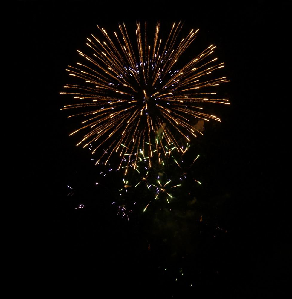 Feuerwerk in Salzburg 3