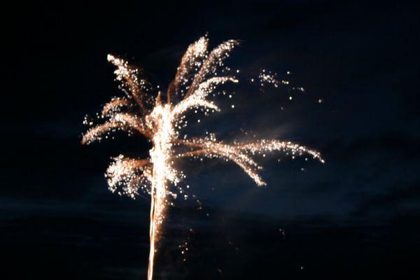 Feuerwerk in Schieder