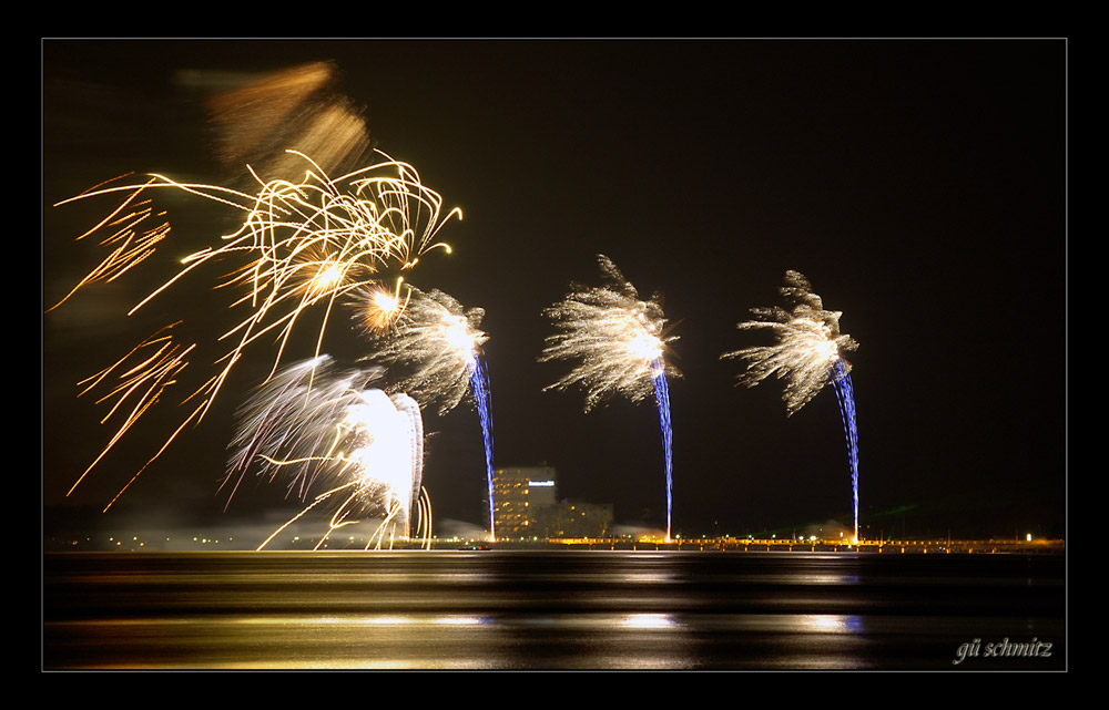 Feuerwerk in Timmendorf