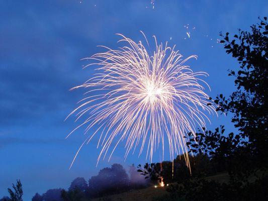 Feuerwerk in Unterkirnach 1