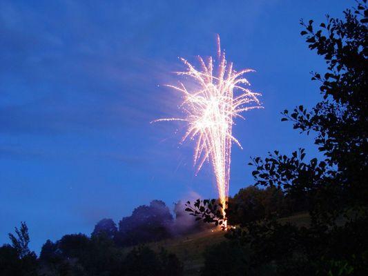 Feuerwerk in Unterkirnach 2