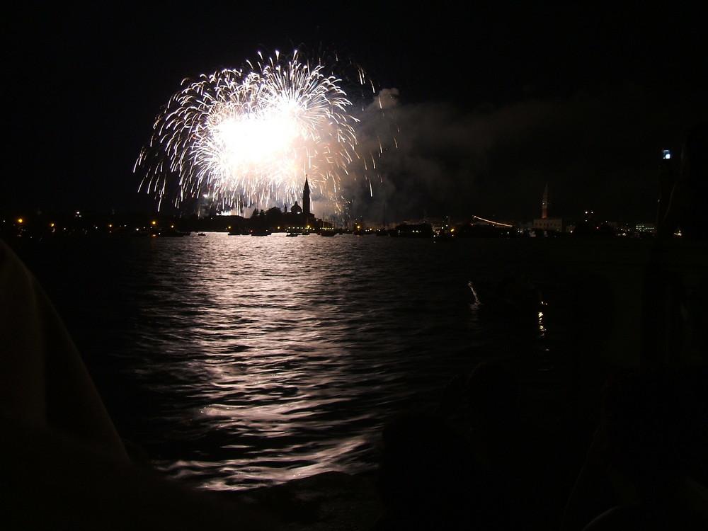 Feuerwerk in Venedig III